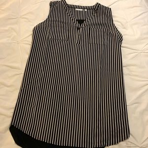New York & Company black and white tunic